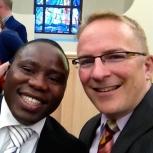 Leaders à l'église de Châtellerault