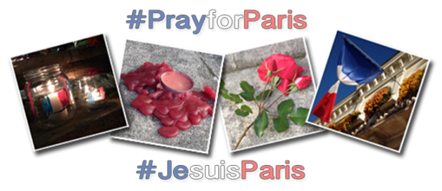 #PrayforParis, #JesuisParis, #ParisAttacks, Châtellerault, Mairie de Châtellerault, église, église pentecôtiste, EPUFrance.org